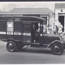 Image of U. S. Mail Truck in parade