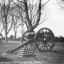 Image of 6626.027 - Bancroft's Battery G, 4th U.S. Artillery, Nat. Cemetery