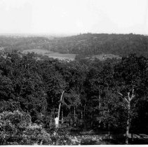 Image of 6626.316 - Looking to Wolf's Hill and Cavalry Battlefield from Culp's Hill Observatory