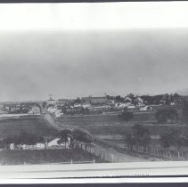 Image of 6631.002 - View of West Middle Street from Seminary Ridge