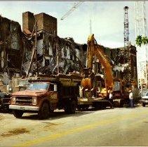 Image of Demolition of Fishback Hotel 201 N 2nd Street    2-1993 - Moeller Collection