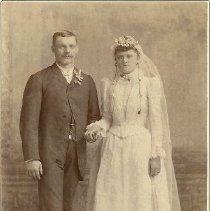 Image of Michels, friends of Schnatmeier, Teckemeier families, from Kansas City. -