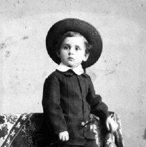 Image of Jacobs Family Young Boy.  Portage de Sioux, Mo.       - Topical Photos