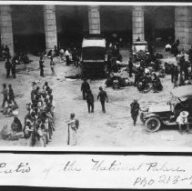 Image of Mexico - Patio of the National Palace 1910 - 1920 - Stumberg Family Collection