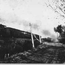 Image of Freight train - 1900 - 1930 - Thomas J. Campbell Collection