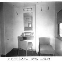 Image of View of passenger compartment, October 1947, Lot #2894 - American Car and Foundry