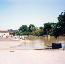 Image of 1993 Flood, August 1, 1993 - Jane Nelson Collection - 1993 Flood - Archived photos