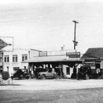 Image of Gas Station, Sunoco - 1920s