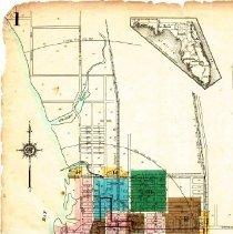 Image of Page 1, Northwest quadrant, Sanborn Fire Insurance Maps Sarasota, Florida