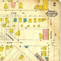 Image of Page 2, Northeast quadrant, Sanborn Fire Insurance Maps Sarasota, Florida