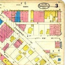 Image of Page 3, Northeast quadrant, Sanborn Fire Insurance Maps Sarasota, Florida