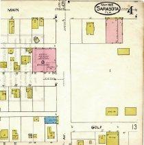 Image of Page 4, Northeast quadrant, Sanborn Fire Insurance Maps Sarasota, Florida