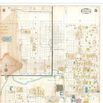 Image of Plate 8, Sanborn Fire Insurance Maps of Sarasota, Florida 1929 map revised