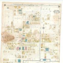 Image of Plate 9, Sanborn Fire Insurance Maps of Sarasota, Florida 1929 map revised
