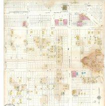 Image of Plate 11, Sanborn Fire Insurance Maps of Sarasota, Florida 1929 map revised
