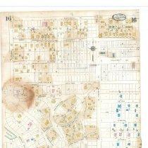 Image of Plate 16, Sanborn Fire Insurance Maps of Sarasota, Florida 1929 map revised