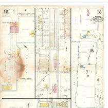 Image of Plate 18, Sanborn Fire Insurance Maps of Sarasota, Florida 1929 map revised