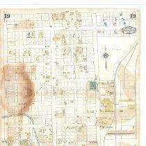 Image of Plate 19, Sanborn Fire Insurance Maps of Sarasota, Florida 1929 map revised