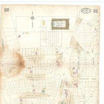 Image of Plate 22, Sanborn Fire Insurance Maps of Sarasota, Florida 1929 map revised