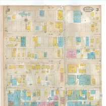 Image of Plate 3, Sanborn Fire Insurance Maps of Sarasota, Florida 1929 map revised