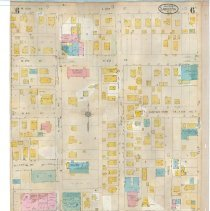 Image of Plate 6, Sanborn Fire Insurance Maps of Sarasota, Florida 1929 map revised