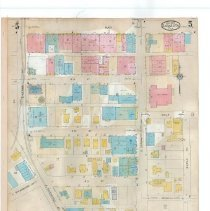 Image of Plate 5, Sanborn Fire Insurance Maps of Sarasota, Florida 1929 map revised