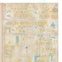 Image of Plate 7 (recto), Sanborn Fire Insurance Maps of Sarasota, Florida 1929 map