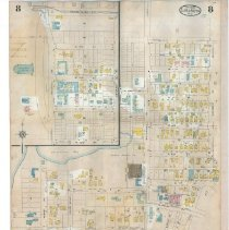 Image of Plate 8 (verso), Sanborn Fire Insurance Maps of Sarasota, Florida 1929 map
