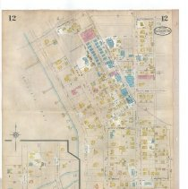 Image of Plate 12 (verso), Sanborn Fire Insurance Maps of Sarasota, Florida 1929 map