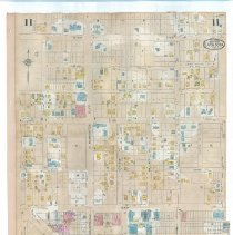 Image of Plate 11 (recto), Sanborn Fire Insurance Maps of Sarasota, Florida 1929 map