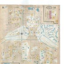 Image of Plate 14 (verso), Sanborn Fire Insurance Maps of Sarasota, Florida 1929 map