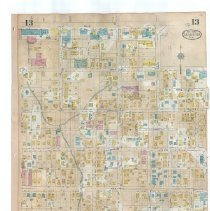 Image of Plate 13 (recto) / Plate 14 (verso), Sanborn Fire Insurance Maps of Sarasot