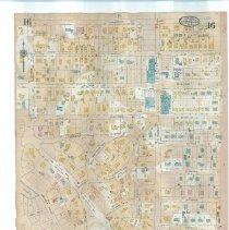 Image of Plate 16 (verso), Sanborn Fire Insurance Maps of Sarasota, Florida 1929 map