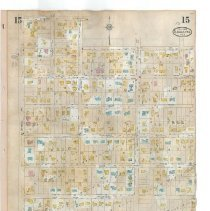 Image of Plate 15 (recto), Sanborn Fire Insurance Maps of Sarasota, Florida 1929 map