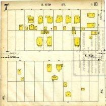 Image of Page 7, Northwest quadrant, Sanborn Fire Insurance Maps Sarasota, Florida