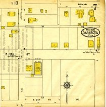 Image of Page 7, Northeast quadrant, Sanborn Fire Insurance Maps Sarasota, Florida