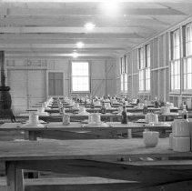 "Image of 41st Cantonment, Mess Hall 1 - ""Mess hall - 41st Cantonment - North Ft. Lewis"""