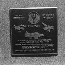 "Image of 5th Airforce Memorial Wall 4 - ""5th Air Force Memorial Wall at the Air Force Academy - Colorado Springs - May 2002""