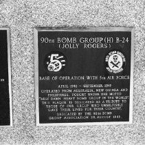 "Image of 5th Airforce Memorial Wall 6 - ""5th Air Force Memorial Wall at the Air Force Academy - Colorado Springs - May 2002""