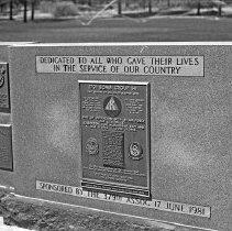 "Image of 5th Airforce Memorial Wall 9 - ""5th Air Force Memorial Wall at the Air Force Academy - Colorado Springs - May 2002""