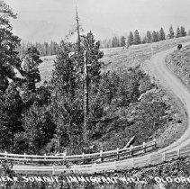 """Image of Cabbage Hill 2 - """"Cabbage Hill - Circa 1915-1920""""  """"No. 1  Scene near Summer Immigrant Hill, Old Oregon Trail, Oregon"""""""