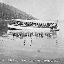 """Image of Wallowa Lake, Passenger Boat - """"No. 59 The Aneroid - Wallowa Lake - Joseph, Ore."""""""