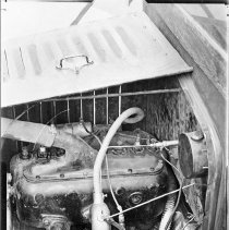 "Image of Automobile Engine - ""Old automobile engine - no details known"""