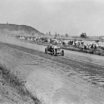 "Image of Automobile, Dirt Track 1 - ""Auto Races - Portland - 1912""
