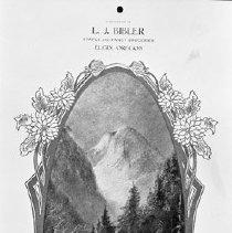 "Image of Calendar, L.J. Bibler Grocery - ""Compliments of L.J. Bibler Grocery 1915 Staples and Fancy Groceries"""