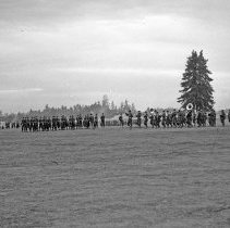 """Image of 41st Division, Pass in Review 6 - """"41st Division - negatives of the many Saturday parades - 'Pass in Review' - Camp Murray before the 186th moved to N. Fort Cantonment"""""""