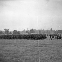 """Image of 41st Division, Pass in Review 7 - """"41st Division - negatives of the many Saturday parades - 'Pass in Review' - Camp Murray before the 186th moved to N. Fort Cantonment"""""""