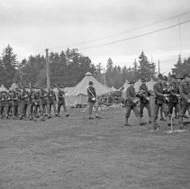 """Image of 41st Division, Pass in Review 8 - """"41st Division - negatives of the many Saturday parades - 'Pass in Review' - Camp Murray before the 186th moved to N. Fort Cantonment"""""""