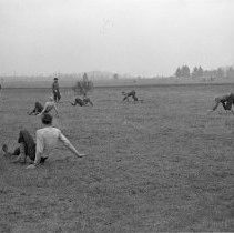 """Image of 41st Division, Recreation 1 - """"41st Division 1941 - Recreation:  crab race"""""""
