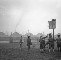 "Image of 41st Division, Basketball 2 - ""41st Division 1941 - Recreation:  Basketball"""